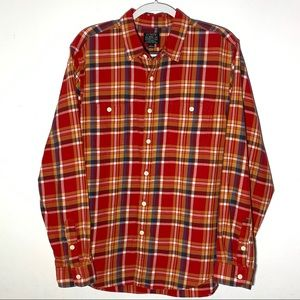 J. Crew Sporting Goods Vintage Flannel Shirt